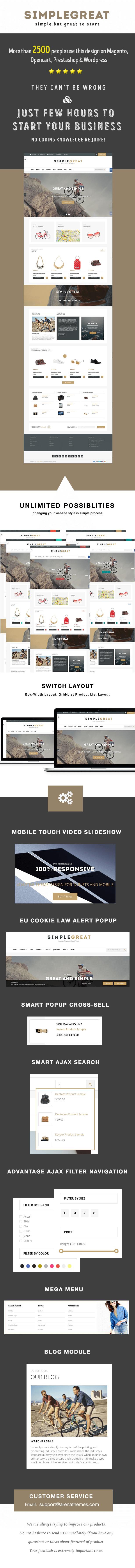 SimpleGreat - Premium Responsive Shopify Theme